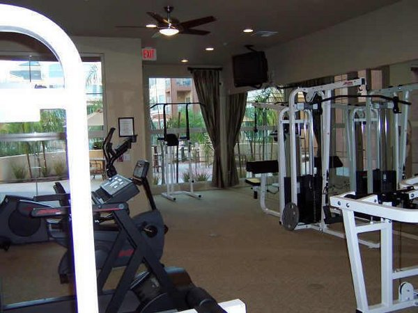 Fitness area regatta pointe condos