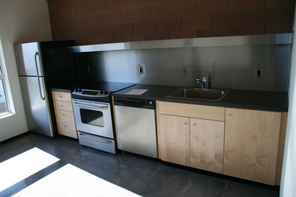 Kitchen area roosevelt 11 rowhomes