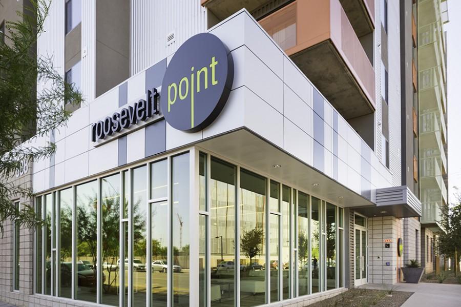 Corner roosevelt point condos