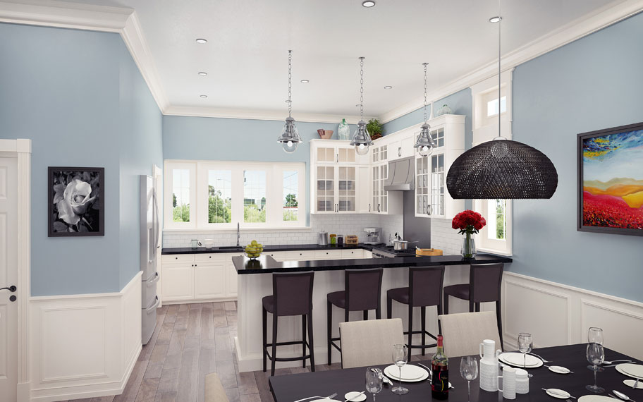 Rosedale residences kitchen and dining