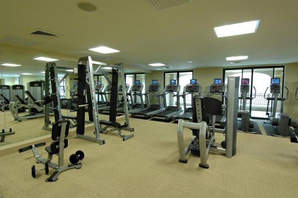 Fitness area scottsdale waterfront condos