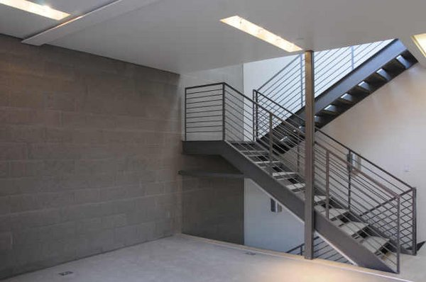 Interior stairs skye 15 townhomes