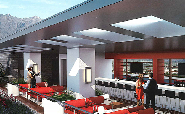 Bahia upper deck rendering