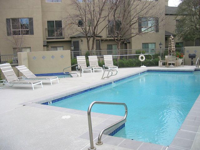 Pool area st croix villas condos