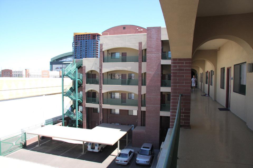 Exterior stadium lofts