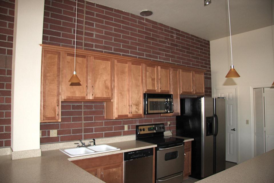 Kitchen 2 stadium lofts