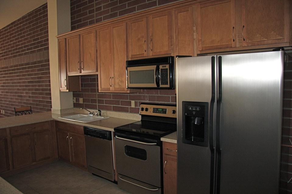Kitchen 3 stadium lofts
