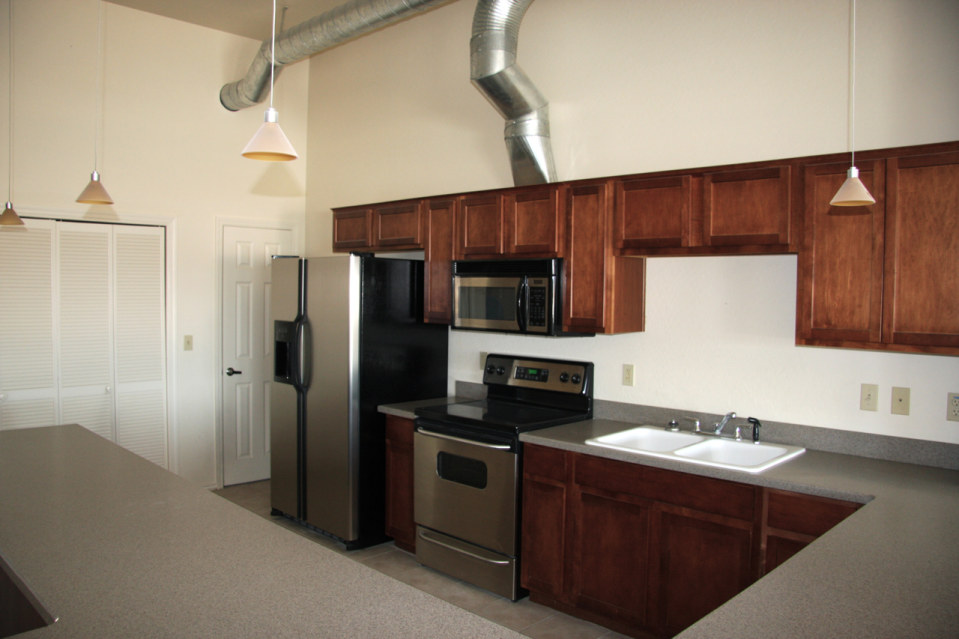 Kitchen area stadium lofts