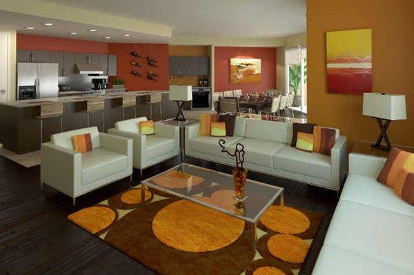 Living room ten wine lofts