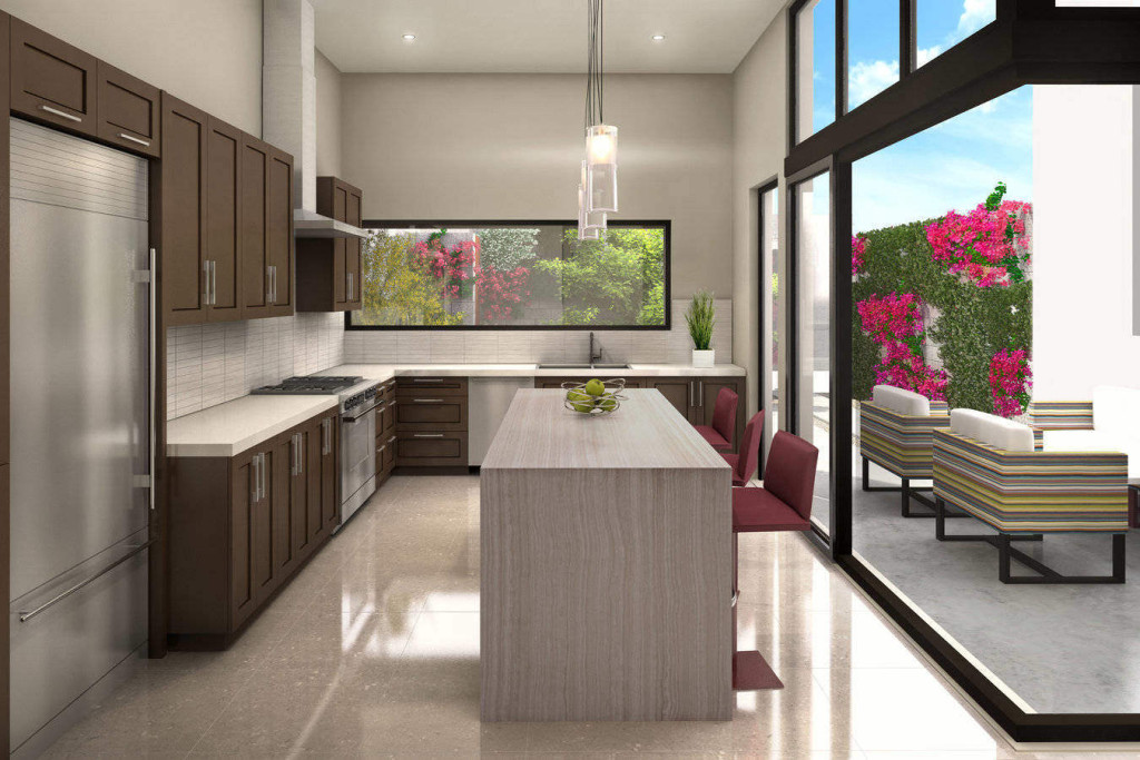 The douglas scottsdale kitchen rendering
