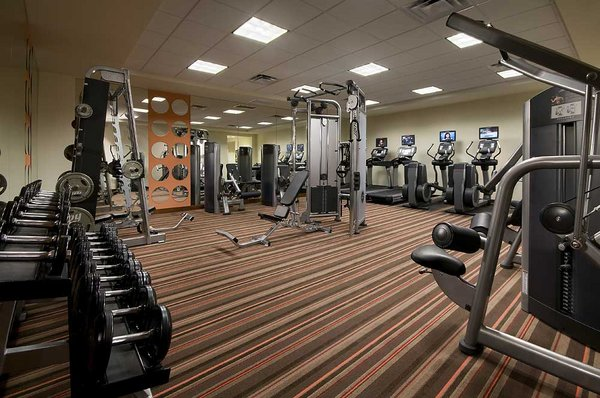 Fitness center the mark condos