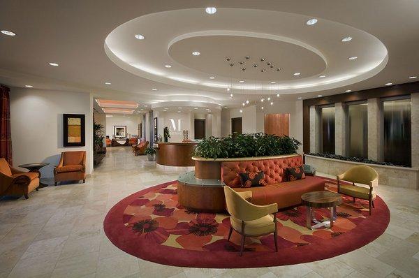 Lobby the mark condos