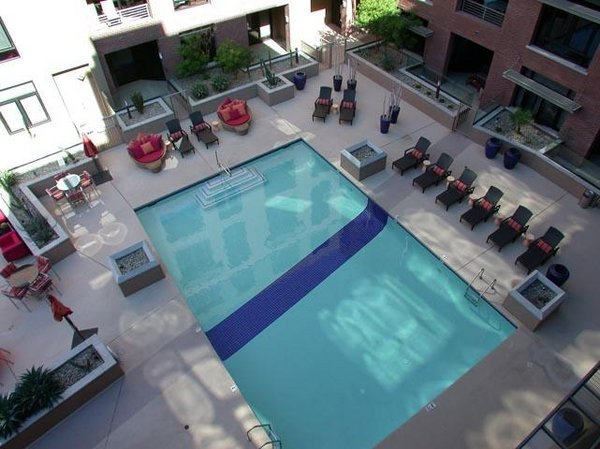 Pool area third avenue lofts