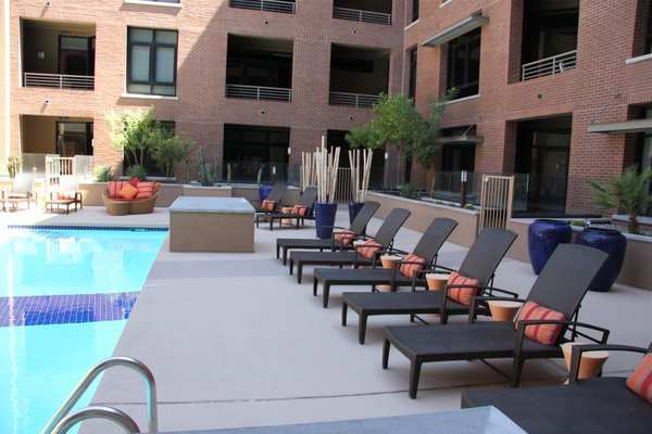 Poolside third avenue lofts