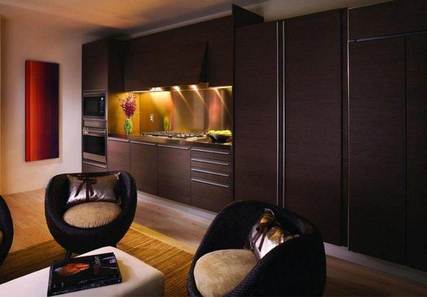 Interior w hotel condos