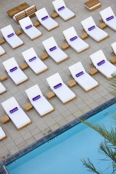 Poolside w hotel condos